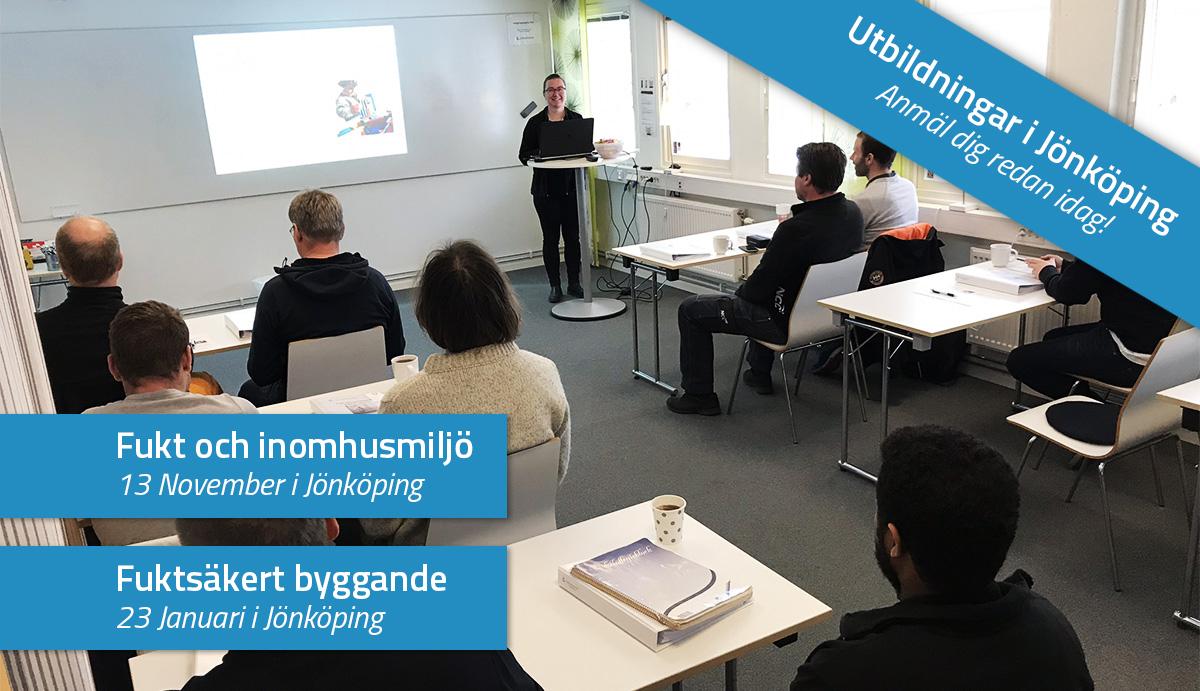 Kommande utbildningar i Jönköping