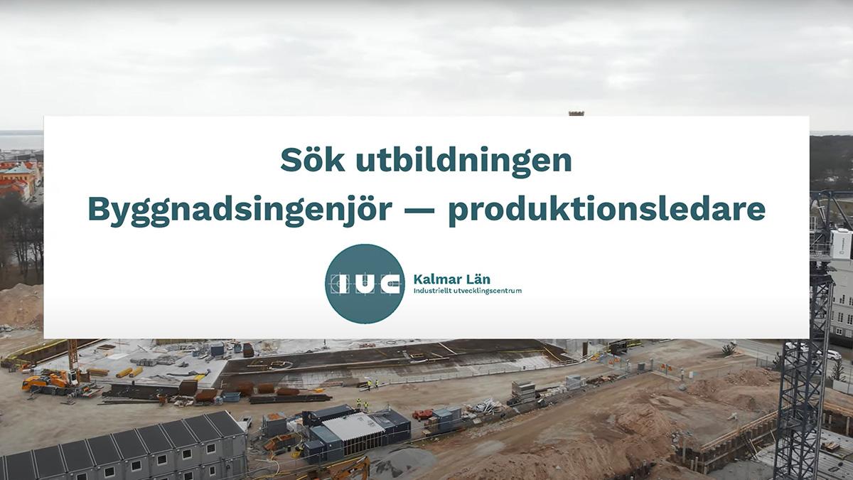 Film för IUC Kalmar läns utbildning